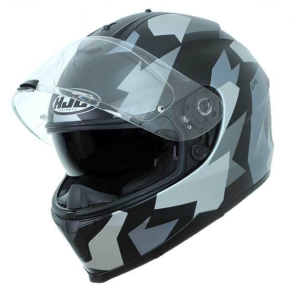 Casco HJC C70 Valon MC5SF Negro Gris