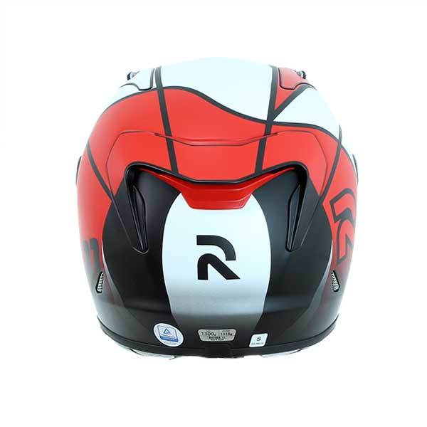 Casco HJC RPHA 11 Quintain MC1SF Rojo Blanco