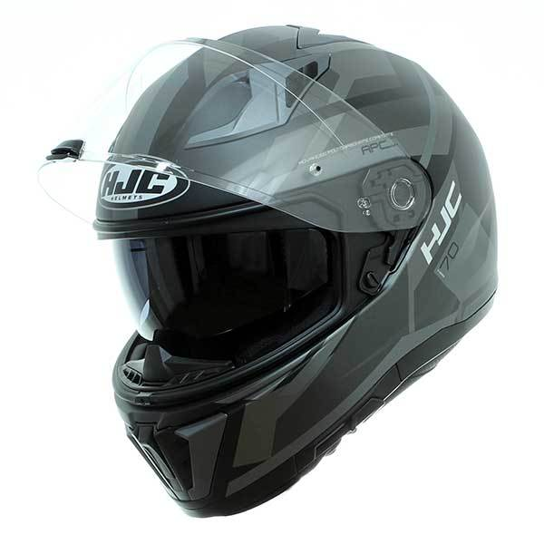 Casco HJC i70 Elim MC5SF Negro Gris Mate