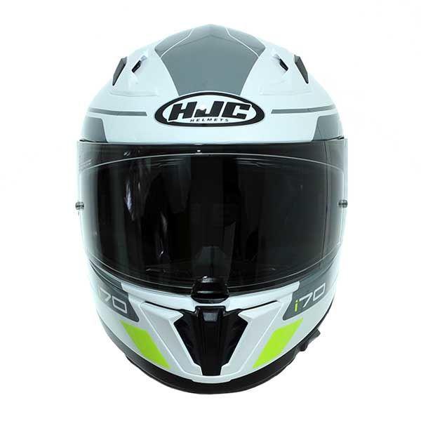 Casco moto HJC i70 KARON MC10 Bianco//Argento XS