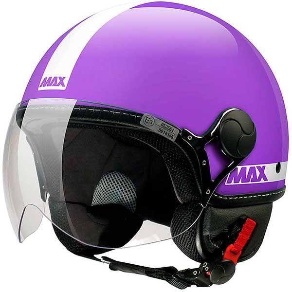Casco Jet Max Power Violeta