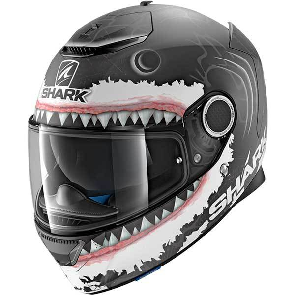 Casco Shark Spartan Lorenzo Negro Mate