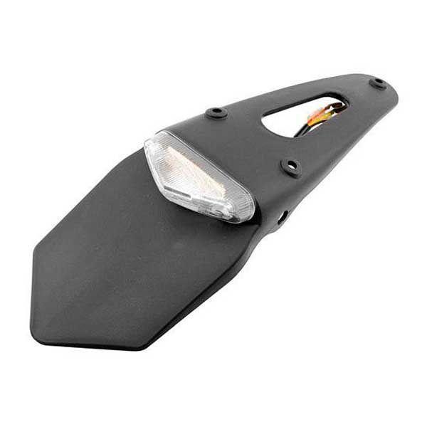 Portamatrículas universal Enduro con luz